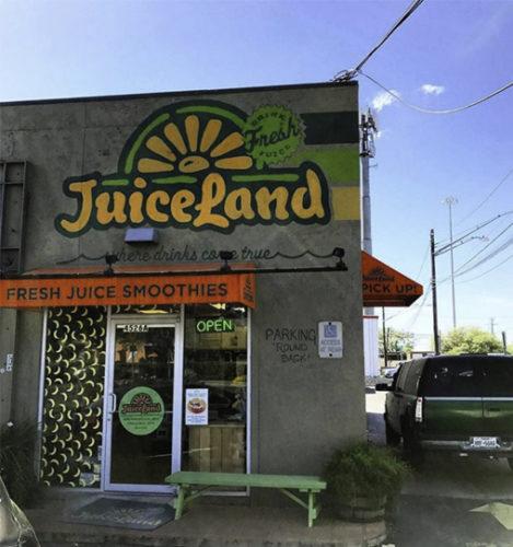 JuiceLand WestGate Blvd Austin TX