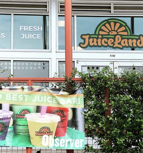 JuiceLand Sylvan Dallas TX
