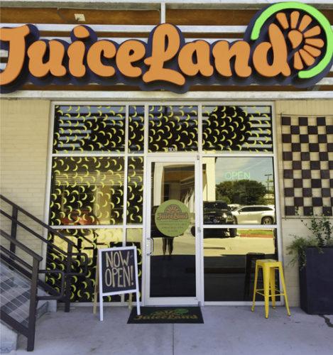 JuiceLand Arbor Town Square Austin TX