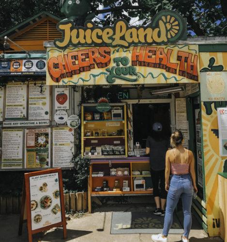 JuiceLand E Cesar Chavez Austin TX