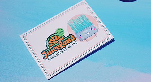 JuiceLand Gift Cards available for purchase at any juice bar